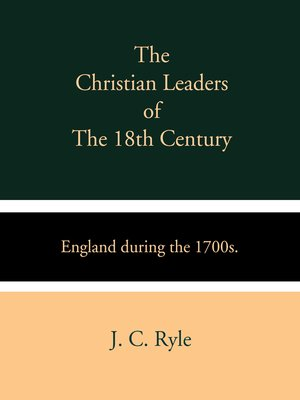 cover image of The Christian Leaders of the 18th Century
