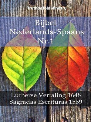 cover image of Bijbel Nederlands-Spaans Nr.1