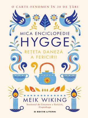 cover image of Mica enciclopedie Hygge