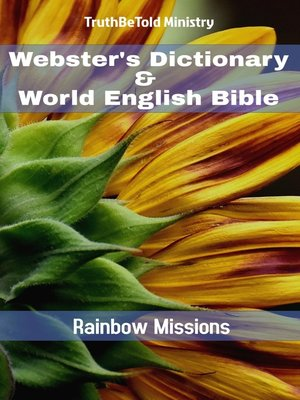 cover image of Webster's Dictionary & World English Bible