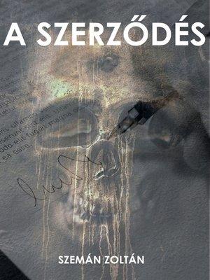 cover image of A szerződés