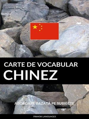 cover image of Carte de Vocabular Chinez