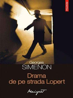 cover image of Drama de pe strada Lopert