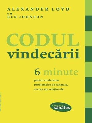 cover image of Codul vindecării