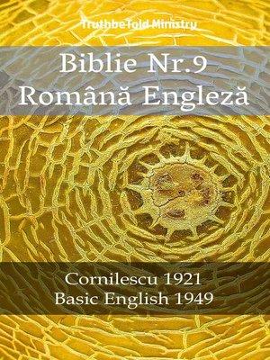 cover image of Biblie Nr.9 Română Engleză