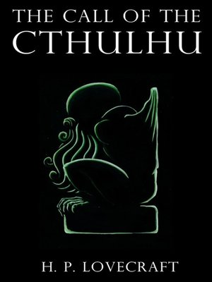 cover image of The Call of Cthulhu