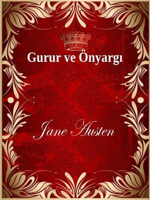 cover image of Gurur ve Önyargı