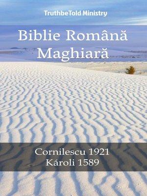 cover image of Biblie Română Maghiară