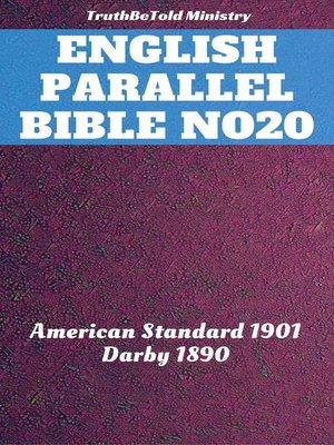 cover image of English Parallel Bible No20