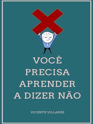 cover image of Como dizer não