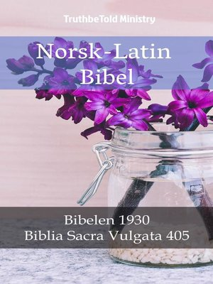 cover image of Norsk-Latin Bibel