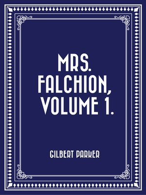 cover image of Mrs. Falchion, Volume 1.