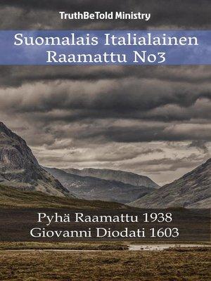 cover image of Suomalais Italialainen Raamattu No3