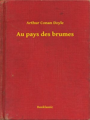 cover image of Au pays des brumes