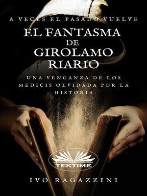 cover image of El Fantasma De Girolamo Riario