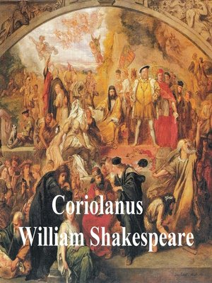 cover image of Coriolanus, with line numbers