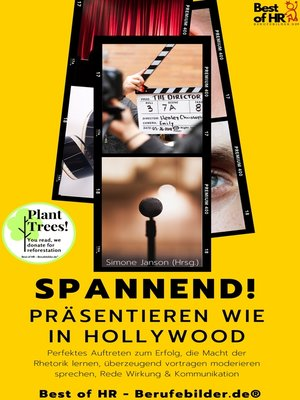 cover image of Spannend! Präsentieren wie in Hollywood