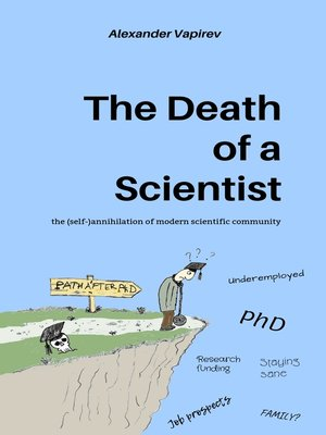 cover image of The Death of a Scientist