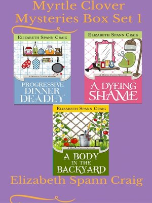 cover image of Myrtle Clover Mysteries Box Set 1