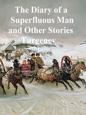 cover image of The Diary of a Superfluous Man and Other Stories