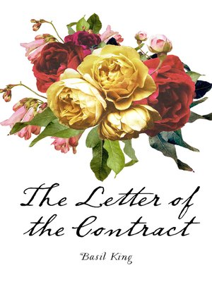 cover image of The Letter of the Contract