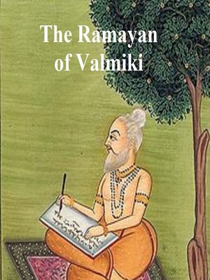 cover image of The Ramayan of Valmiki