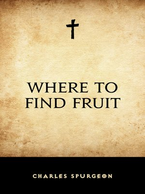 cover image of Where to Find Fruit