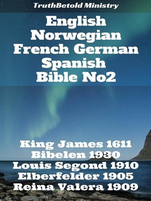 cover image of English Norwegian French German Spanish Bible No2
