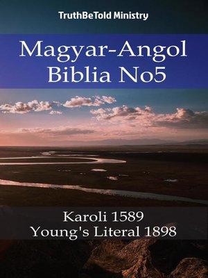 cover image of Magyar-Angol Biblia No5