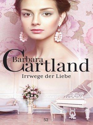 cover image of Irrwege der Liebe