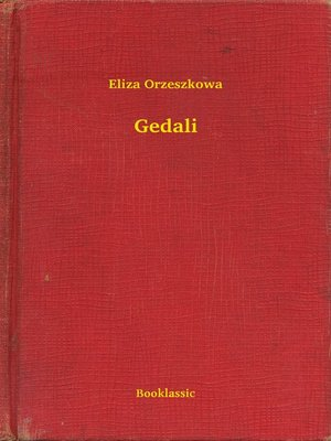 cover image of Gedali