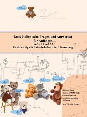 cover image of Erste Italienische Fragen und Antworten für Anfänger