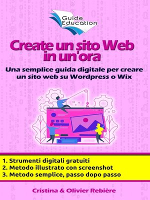 cover image of Create un sito Web in un'ora