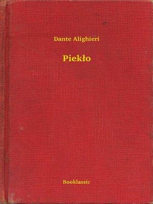 cover image of Piekło