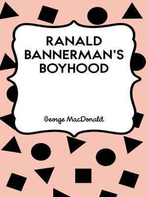 cover image of Ranald Bannerman's Boyhood