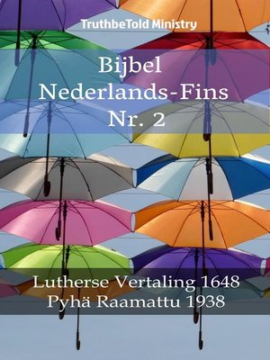 cover image of Bijbel Nederlands-Fins Nr. 2