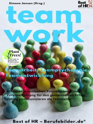 cover image of Teamwork Teamarbeit Teampsychologie Teamentwicklung