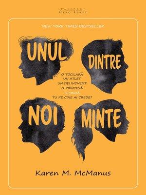 cover image of Unul dintre noi minte