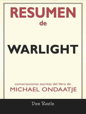 cover image of Resumen de Warlight