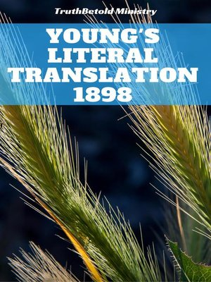 cover image of Young's Literal Translation 1898