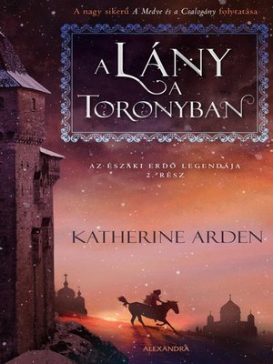 cover image of A lány a toronyban