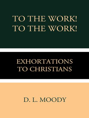 cover image of To the Work! To the Work!
