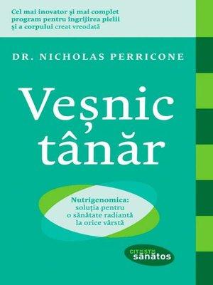 cover image of Veșnic tânăr. Nutrigenomica