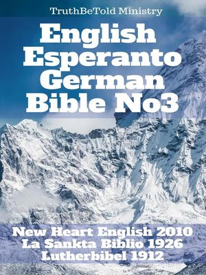 cover image of English Esperanto German Bible No3