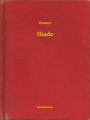 cover image of Iliade
