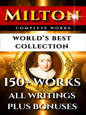 cover image of John Milton Complete Works – World's Best Collection