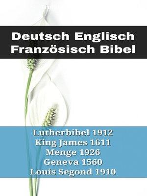cover image of Deutsch Englisch Französisch Bibel