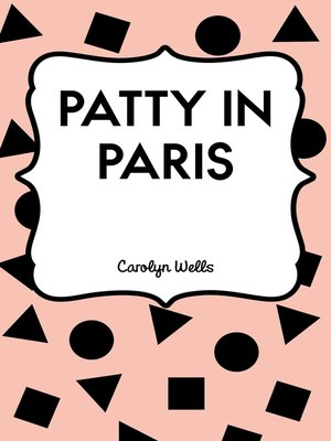 cover image of Patty in Paris