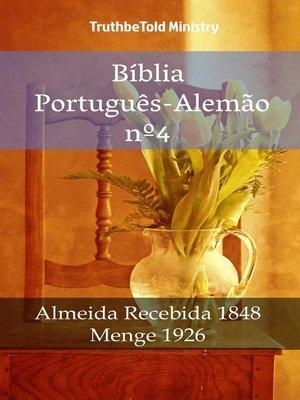 cover image of Bíblia Português-Alemão nº4
