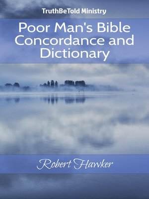 cover image of Poor Man's Bible Concordance and Dictionary
